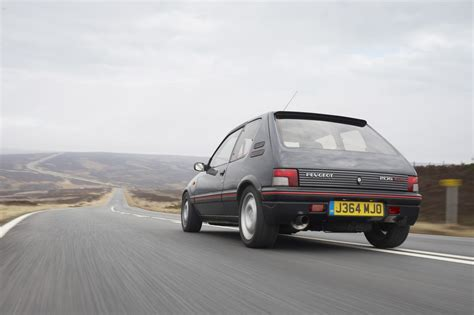 peugeot 205 gti peugeot 205 gti gets modern tuning conversion autoevolution