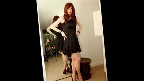 real crossdressers wearing dresses