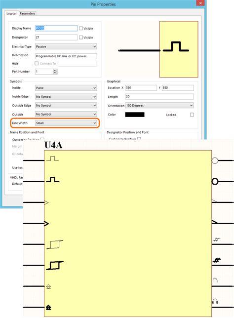schematic symbol altium differential pin schematic get