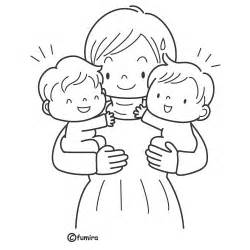 Twins Free Coloring Pages  sketch template
