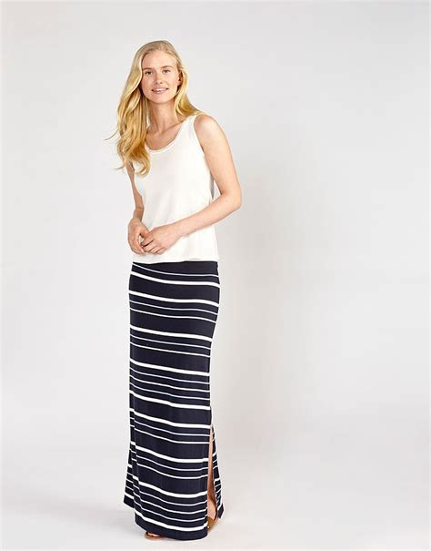 Marbella Jersey Layer Maxi Limited get 3 for 2 on summer stripes at crew clothing find sales