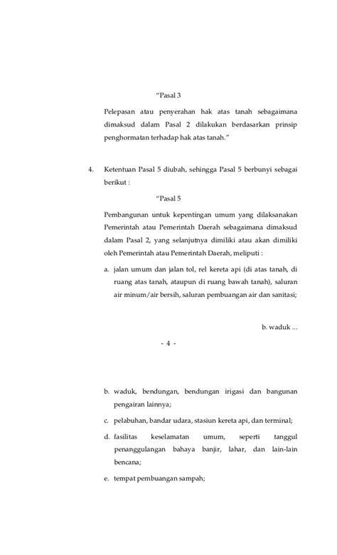 Buku Implementasi Prinsip Kepentingan Umum Dalam Pengadaan Tanah Untu peraturan presiden no 65 tahun 2006 tentang perubahan atas peraturan