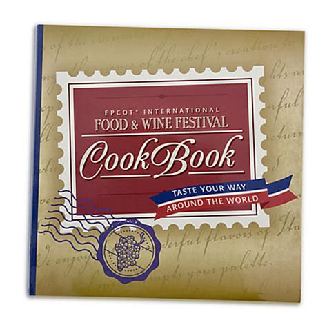 Food Blog Giveaway - disney food blog epcot food wine festival cookbook giveaway the disney food blog