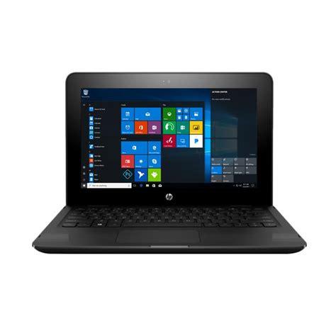 Hp X360 11 Ab035tu Black jual hp pavilion x360 convert 11 ab035tu notebook black