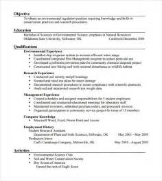 Resume Samples In Pdf by Sample Agriculture Resume 6 Documents In Pdf