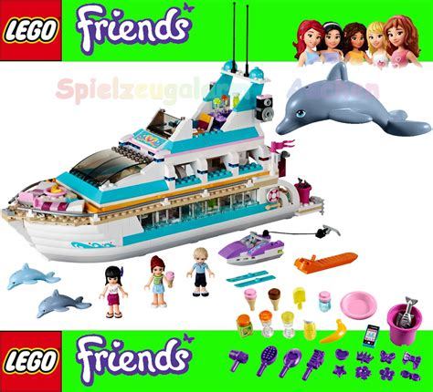 Lego Doll D127 1 6 Set Go lego friends 41015 yacht dolphin cruiser with