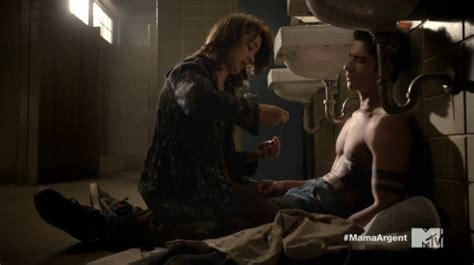Posey Accepts Small Screen by Posey As Mccall Shirtless In Wolf 3 215 05