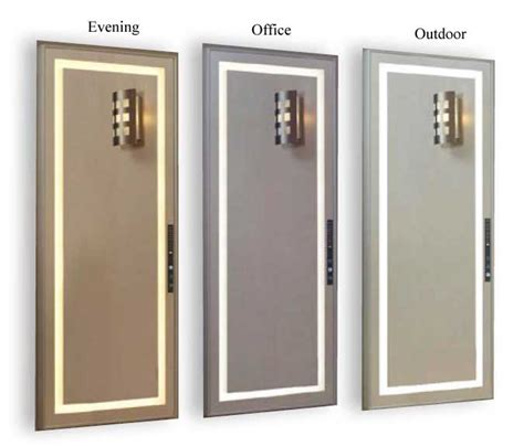 Fitting Room Mirrors by Unique Scenescetter Lighted Dressing Room Mirrors
