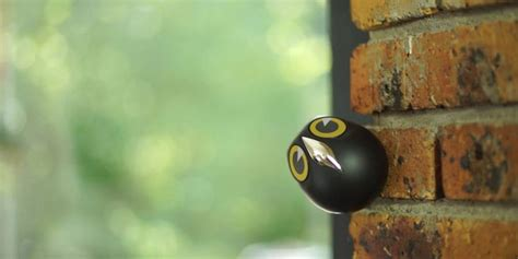 security camera shaped like a bird fubiz media
