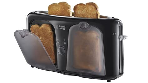 Slim Toaster This Slim Toaster Has Clever Heated Pockets To Keep Your