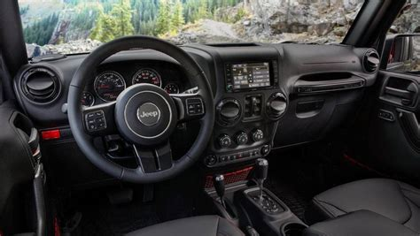 luxury jeep wrangler unlimited interior 2018 jeep wrangler shows interior in official images