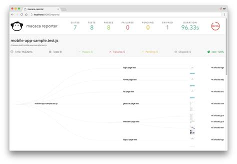 javascript glob pattern macaca solution for automation test with ease