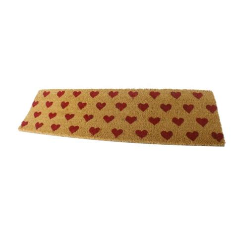 felpudo puerta comprar online felpudos con corazones y alfombras para