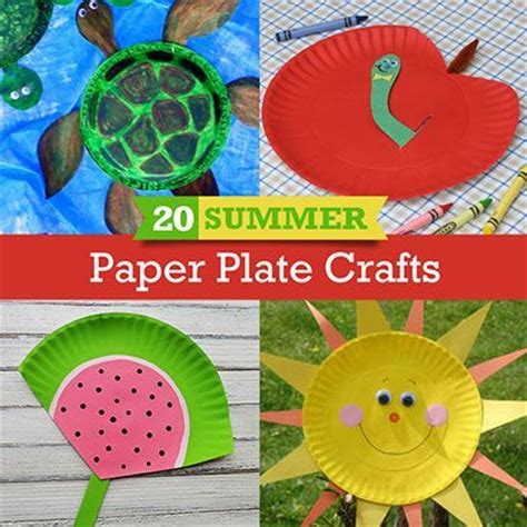 great craft ideas for 20 summer paper plates crafts spoonful great craft