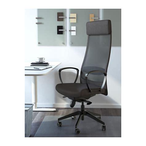 sedia markus markus sedia da ufficio vissle grigio scuro ikea