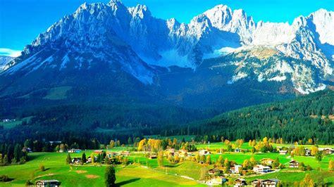 imagenes de paisajes de 1920x1080 fondo escritorio paisaje pueblo y monta 241 a fondo pantalla