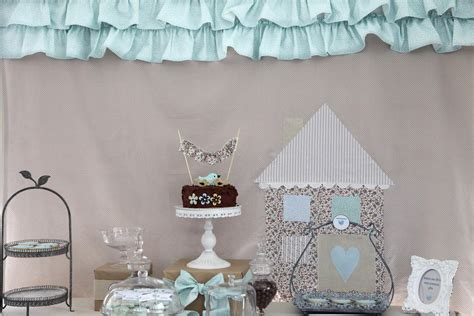 themes baby love bubble and sweet blue ruffle birdie baby shower