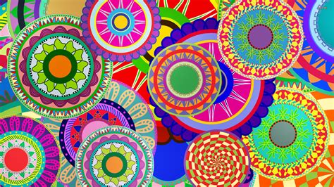colorful design colorful floral design wallpaper vector wallpapers 1233