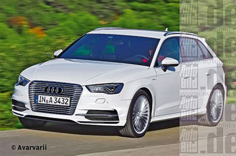 Audi A3 Hybrid by Audi A3 In Hybrid Op Autosalon Geneve Carblogger
