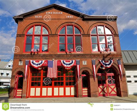 Chalet Floor Plans traditional american fire house stock image image 25882871