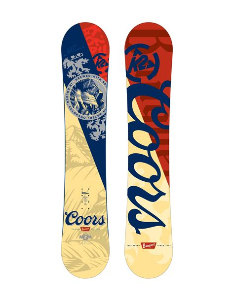 coors light snowboard price hit the slopes with coors light and k2 sports