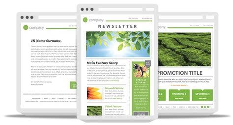 Newsletter Template Best Practices To Increase Your Email Engagement Email Template Best Practices 2017