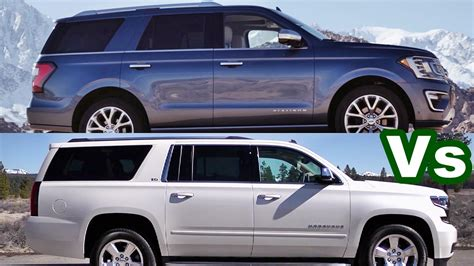 gmc suburban vs chevy suburban 2018 ford expedition vs chevy suburban
