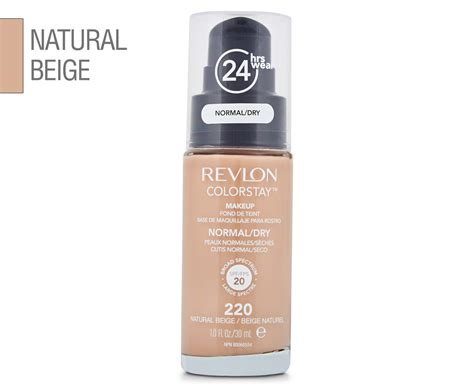 Maskara Eyeliner Revlon revlon colorstay makeup for normal skin 30ml 220 beige ebay