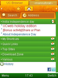 uc themes java uc browser 7 8 official indian independence day special