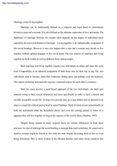 Gay marriage pro con essay sample