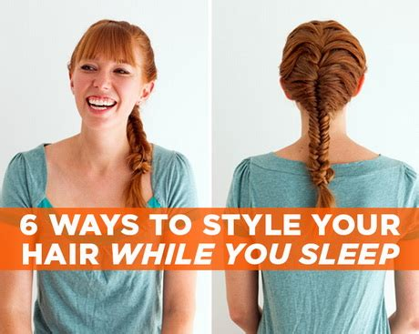 hairstyles for bed hairstyles you can sleep in