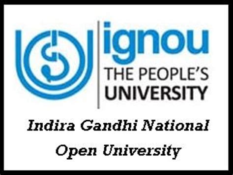Indira Gandhi Open Mba Distance Education by Ignou Admission For Pg Diploma In Food Science And