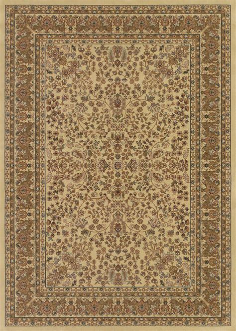 couristan izmir 7018 3000 floral mashhad ivory rug