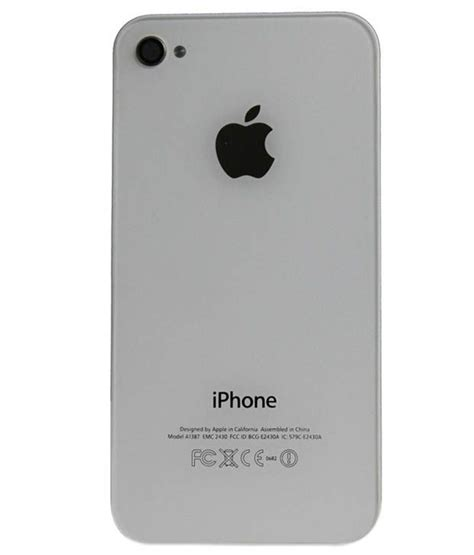 Free Iphone 4s Giveaway No Offers - kartoption back panel for apple iphone 4s white mobile