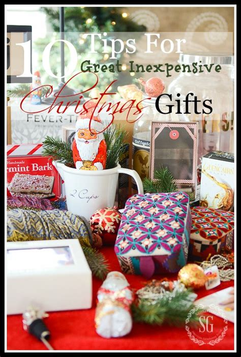 last 10 years christmas gifts 10 tips for great inexpensive gifts stonegable