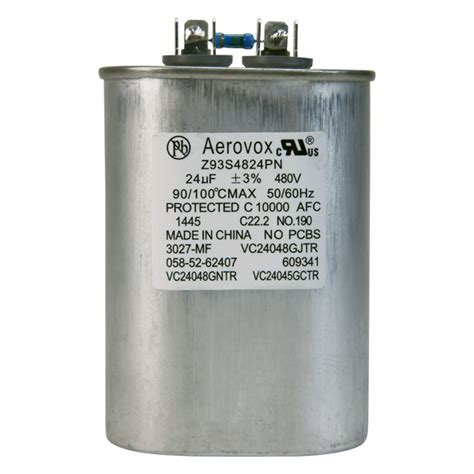 aerovox hid capacitors hid lighting capacitor 480vac aerovox z93s4824pn