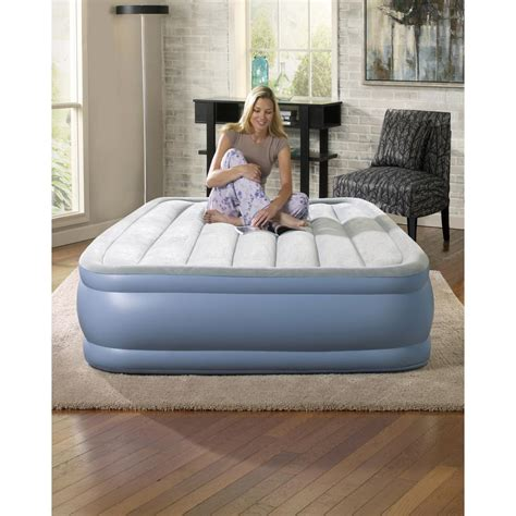beautyrest 16 in hi loft raised adjustable air bed mattress set hddod7112db the home depot