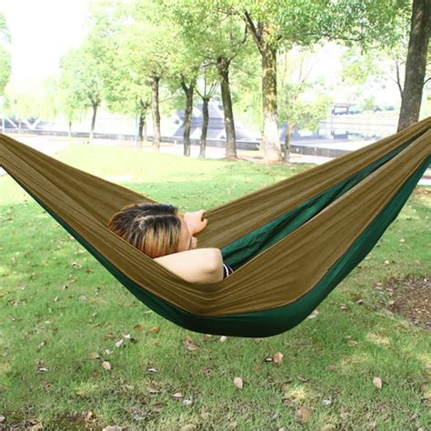 Hammock Swing Bed by Outdoor Hammock Swing Bed Portable Parachute