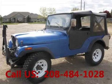 Jeep Of Ontario Used 1972 Jeep Cj For Sale 6 000 At Ontario Or