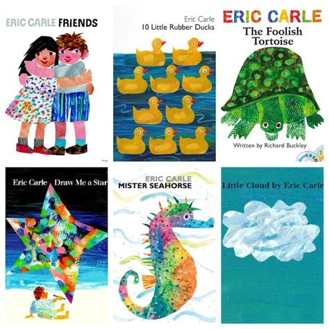 eric carle picture books inspired by the wonderful world of eric carle books