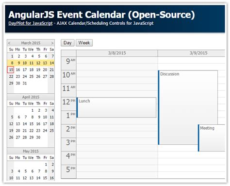 tutorial php angularjs tutorial angularjs event calendar php asp net mvc 5