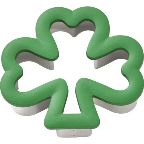 wilton cookie cutters comfort grip shamrock cookie cutter wilton