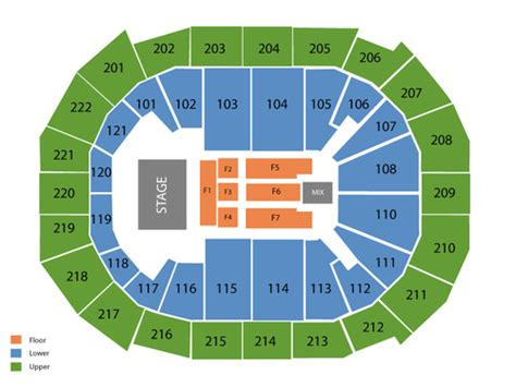chaifetz arena seating chaifetz arena seating chart events in st louis mo