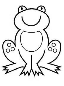 coloring pages frog picture 1