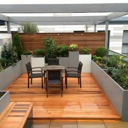 roof terraces gardens by contemporary london designers