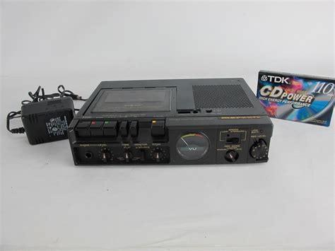 marantz cassette marantz pmd221 portable cassette recorder player deck 3