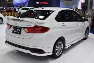 Honda City Connected Car 2017 Honda City Modulo Facelift Bims 2017 Live