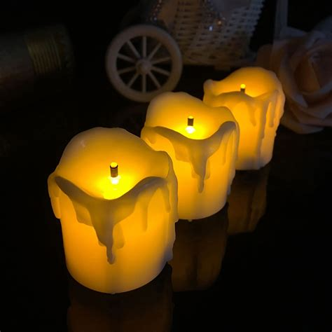 can battery operated night lights catch fire 4 3 4 5cm battery powered flameless led candle tea night