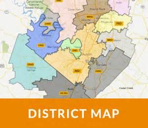 Austin District Map by Search Austin Homes By District Map Austin