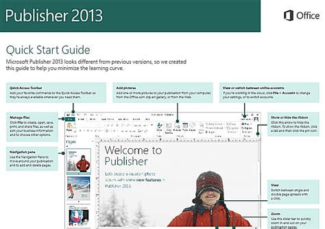 layout guides publisher 2013 quick tutorials for new features in publisher 2013